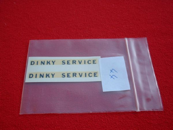 "Dinky Toys 25X / 430 BREAKDOWN LORRY ""DINKY SERVICE"" in BLUE TRANSFERS / DECALS"